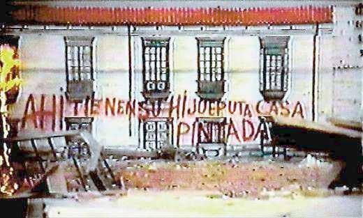 La estrategia del caracol movie scenes The painted fa ade at the end of La estrategia del caracol