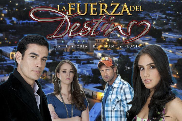 La fuerza del destino (telenovela) Poster Oficial y Logo La Fuerza del Destino Telenovela Tv Series
