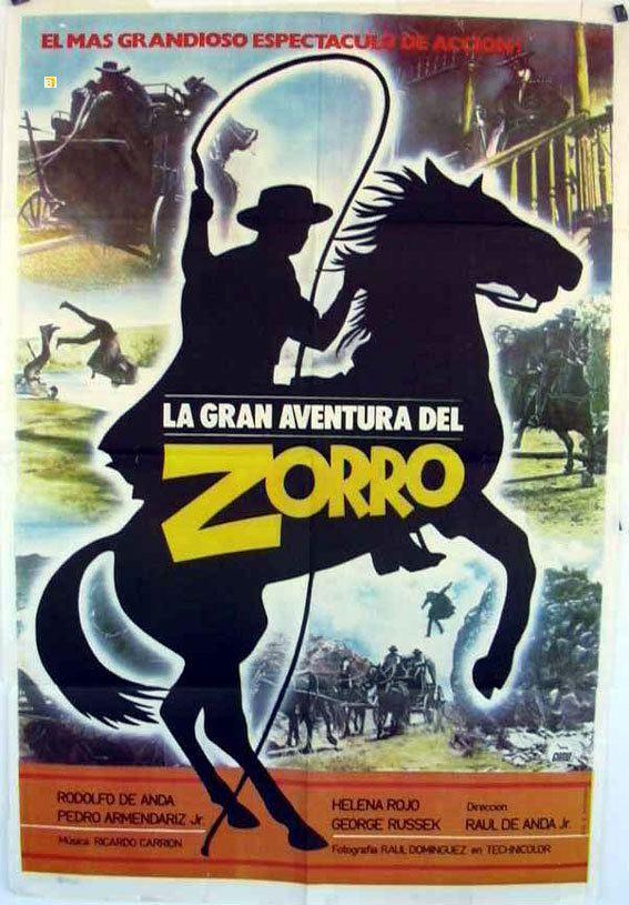 La gran aventura del Zorro wwwbenitomoviepostercomcatalogimagesmoviepost
