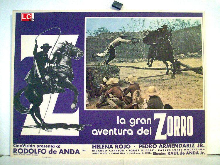 La gran aventura del Zorro LA GRAN AVENTURA DEL ZORRO MOVIE POSTER LA GRAN AVENTURA DEL