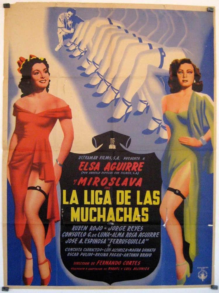 La liga de las muchachas LIGA DE LAS MUCHACHAS LA MOVIE POSTER LA LIGA DE LAS MUCHACHAS