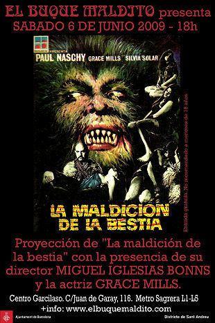 La Maldicion de la Bestia LURID SCREAMS of DEATH The Giallo Goblin Blog Blog Archive LA