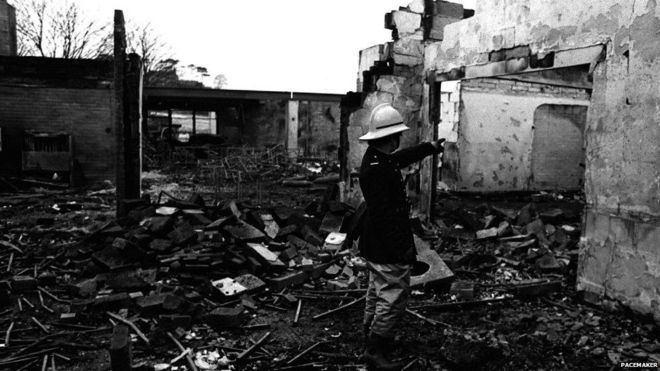 La Mon restaurant bombing In Pictures Northern Ireland Troubles BBC News