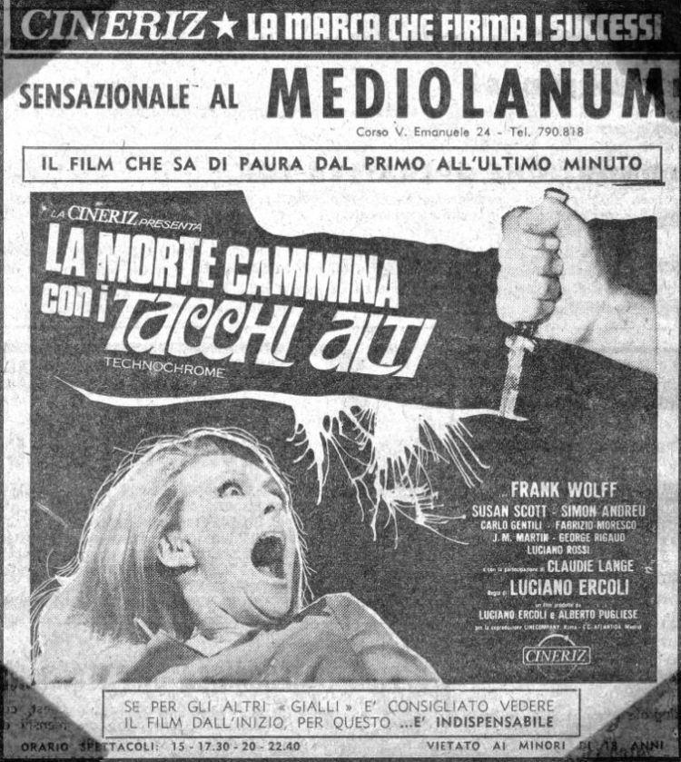 La morte cammina con i tacchi alti TNTforum gt La Morte Cammina Con I Tacchi Alti 1971