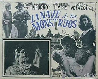 La nave de los monstruos CINEDIONDO cine bizarro cineb cinez LA NAVE DE LOS MONSTRUOS