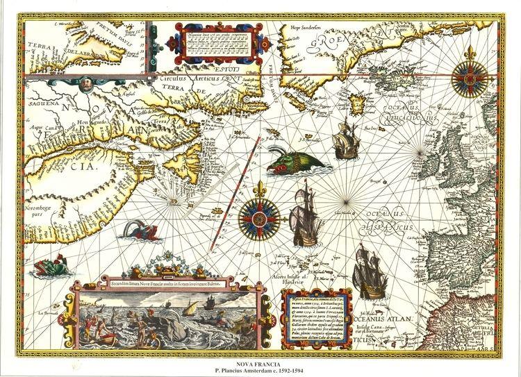 La nueva Francia FileMapa de la Nueva Francia Cnada 1594 AHGjpg Wikimedia