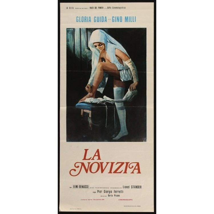La novizia La Novizia Italian locandina movie poster illustraction Gallery