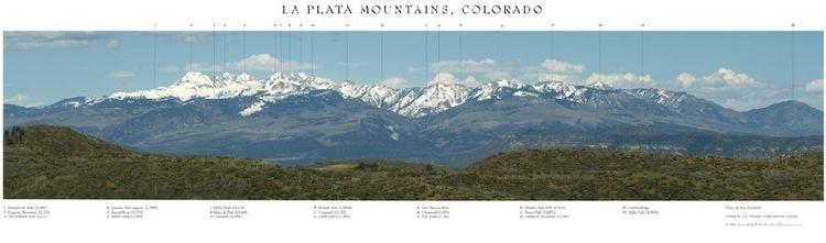 La Plata Mountains Poster La Plata Mountains Mesa Verde Museum Association