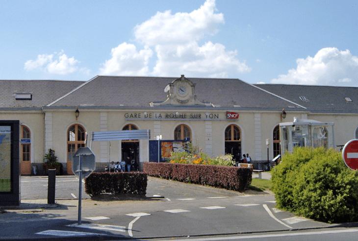 La Roche sur Yon in the past, History of La Roche sur Yon