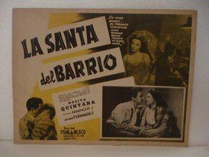 La Santa del barrio Cine Mexicano Del Galletas La Santa Del Barrio1948Rosita Quintana