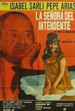 La senora del intendente movie poster