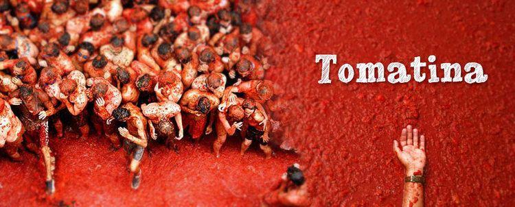 La Tomatina La Tomatina Tomatoe Fight in Spain don Quijote