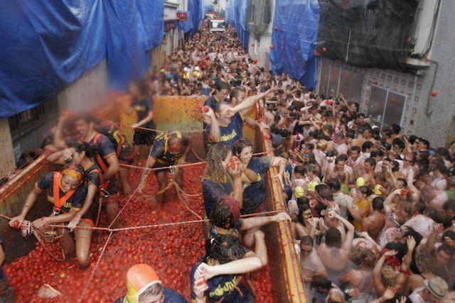 La Tomatina La Tomatina Wikipedia