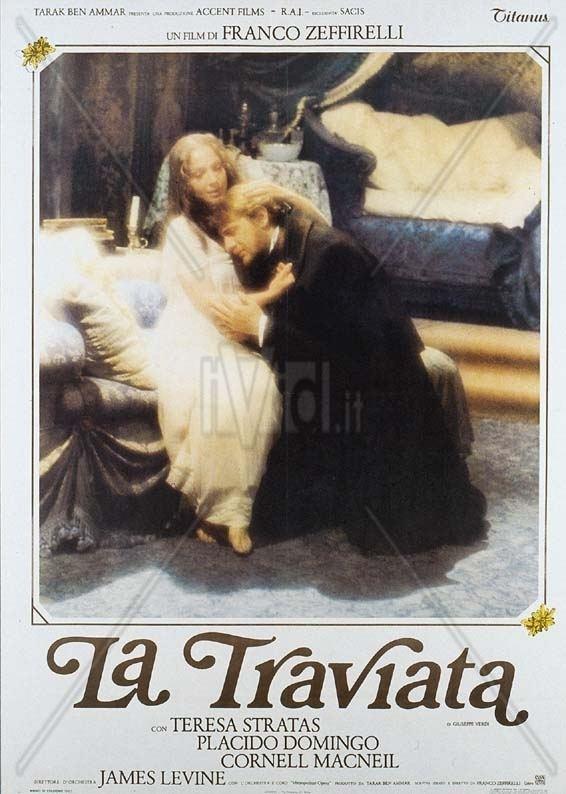 La Traviata (1983 film) Cinema traviata 1983 Musicale Franco Zeffirelli regista Billy