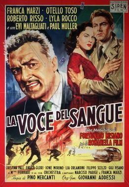 La voce del sangue movie poster