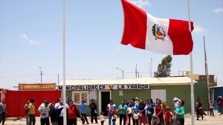 La Yarada-Los Palos District Chile considera que distrito La YaradaLos Palos est en su