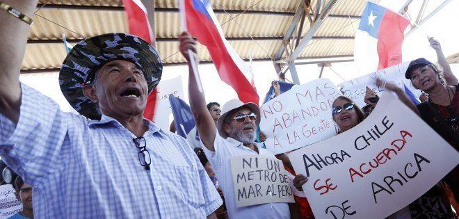 La Yarada-Los Palos District Lima Noticias En Arica protestan por la creacin del distrito La
