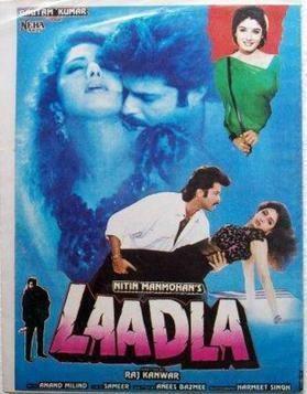 Laadla (1994 film) httpsuploadwikimediaorgwikipediaen336Laa