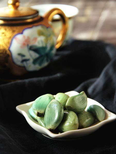 Laba garlic Green Garlic for Laba FestivalFoodchinadailycomcn