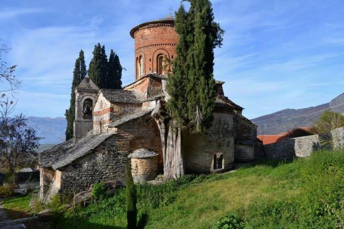 Labova e Kryqit Dormition of the Theotokos Church Labov e Kryqit St Mary39s
