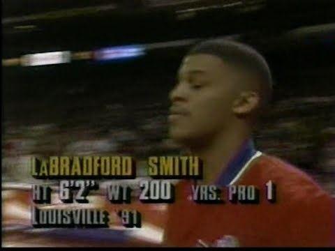 LaBradford Smith LaBradford Smith 37pts 1520FG vs Bulls 1993 YouTube