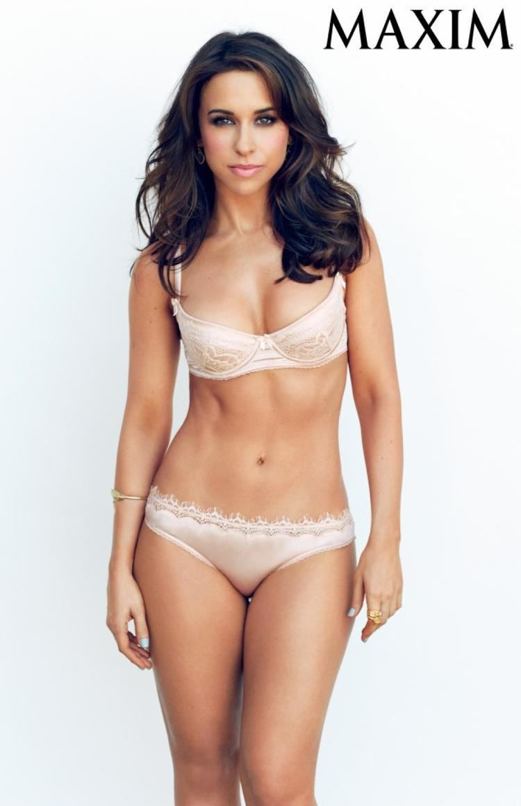 Lacey Chabert Lacey Chabert strips down to underwear for Maxim NY