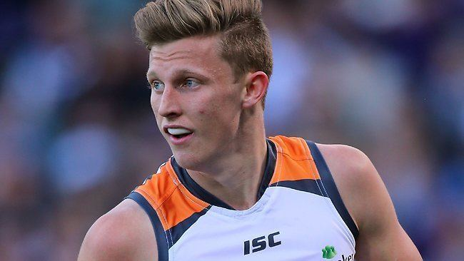 Lachie Whitfield Greater Western Sydney young gun Lachie Whitfield resigns