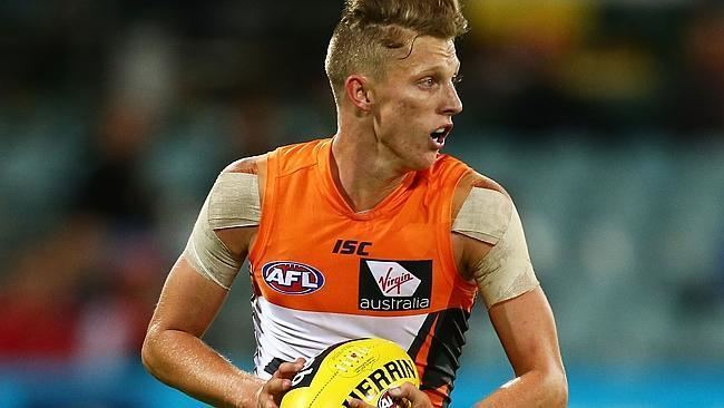 Lachie Whitfield Tom Mitchell explodes Lachie Whitfield all class Every