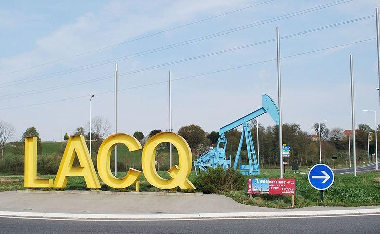 Lacq gas field