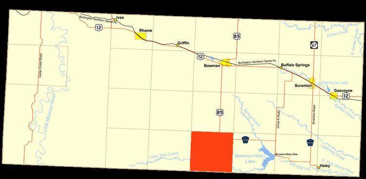 Ladd Township, Bowman County, North Dakota