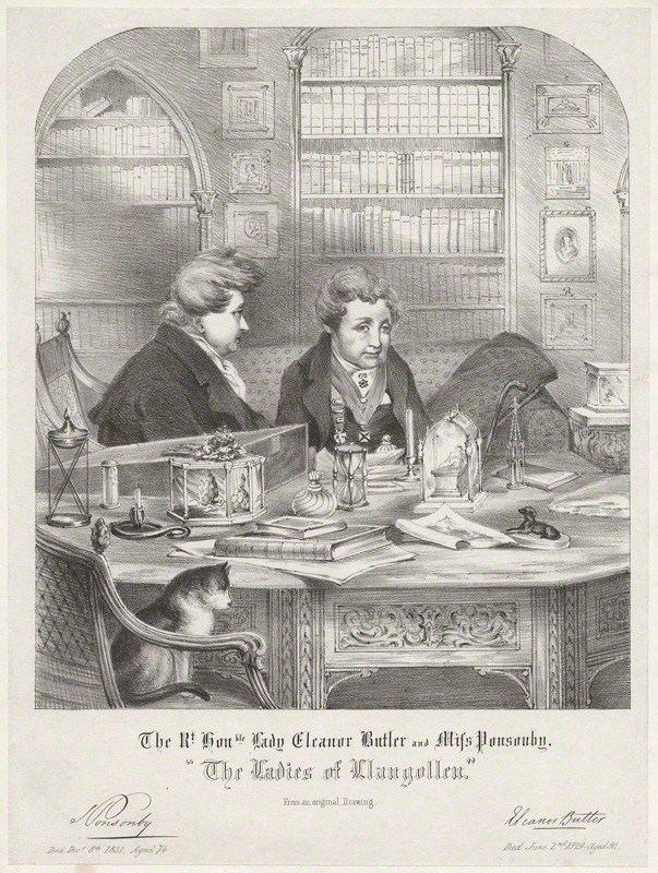 Ladies of Llangollen The Ladies of Llangollen Austen Authors