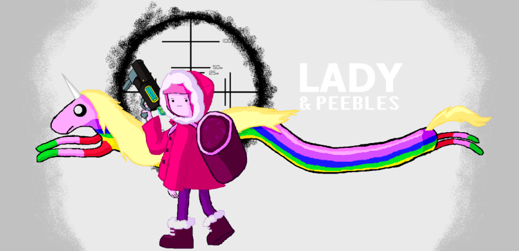 Lady & Peebles Adventure Time Lady and Peebles by icanhascheezeburger on DeviantArt