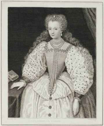 Lady Arbella Stuart Horace Walpole39s Strawberry Hill Collection