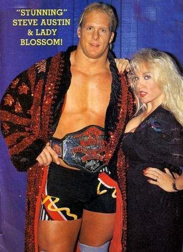 Lady Blossom Stunning Steve Austin his former wife manager Lady Blossom