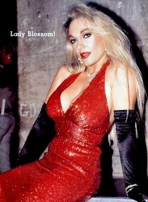 Lady Blossom Jeannie ClarkLady Blossom WCW WCCW Wrestling