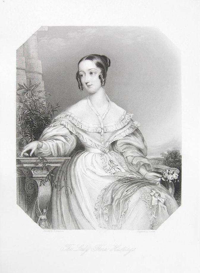 Lady Flora Hastings 1849 publication date Lady Flora Hastings posthumous by