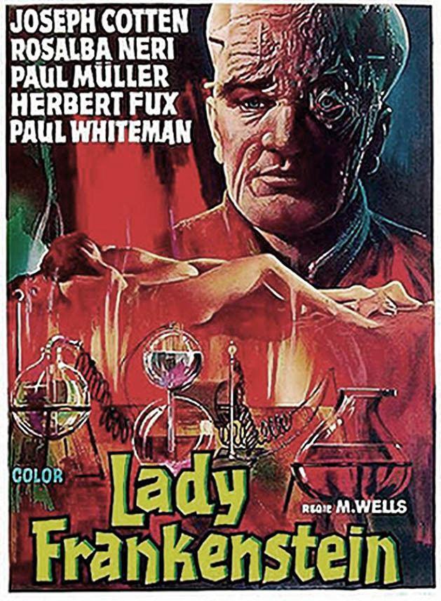 Lady Frankenstein Lady Frankenstein 1971 HORRORPEDIA