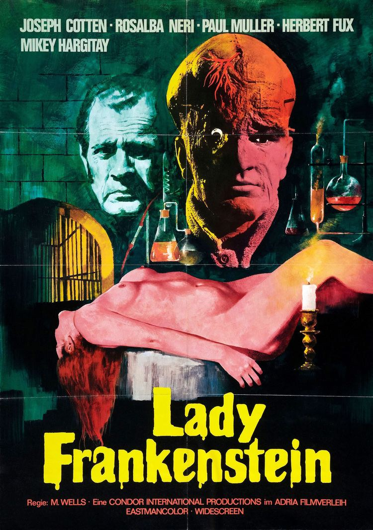 Lady Frankenstein Poster for Lady Frankenstein La figlia di Frankenstein aka