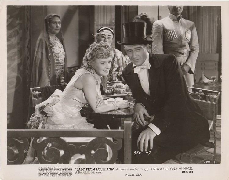 Lady from Louisiana movie scenes Lady From Louisianna 1941 Archive JWMB The Original John Wayne Message Board