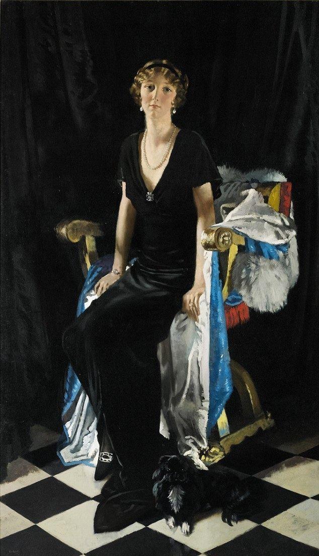 Lady Idina Sackville Idina Sackville portrait of a woman hooked on seduction Daily
