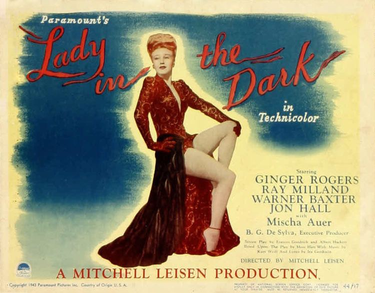 Lady in the Dark (film) Lauras Miscellaneous Musings Tonights Movie Lady in the Dark