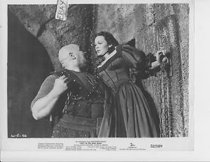 Lady in the Iron Mask Tor Johnson grabs Patricia Medina VINTAGE Photo Lady In The Iron