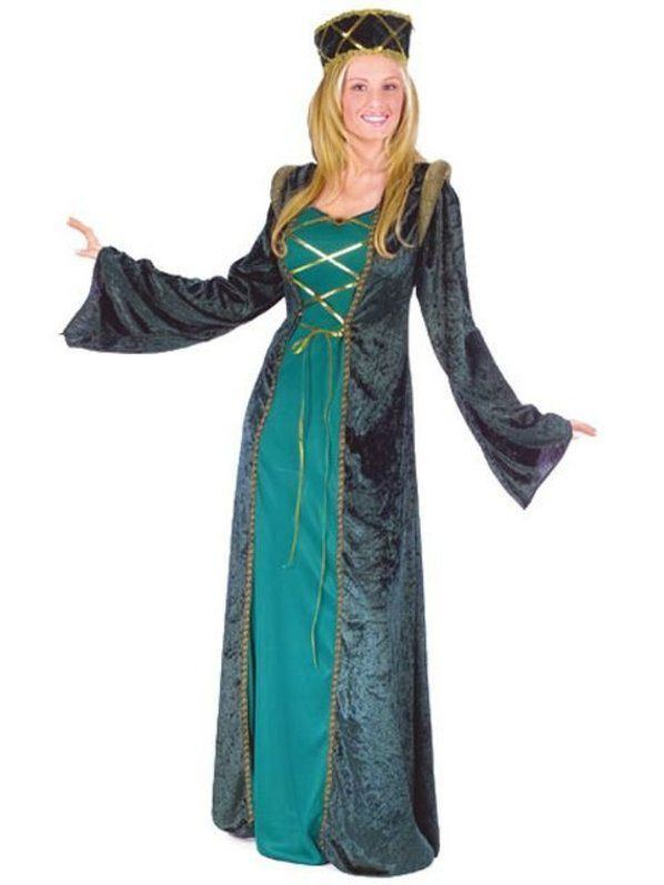Lady-in-waiting Lady In Waiting Costume Womens Renaissance Costumes