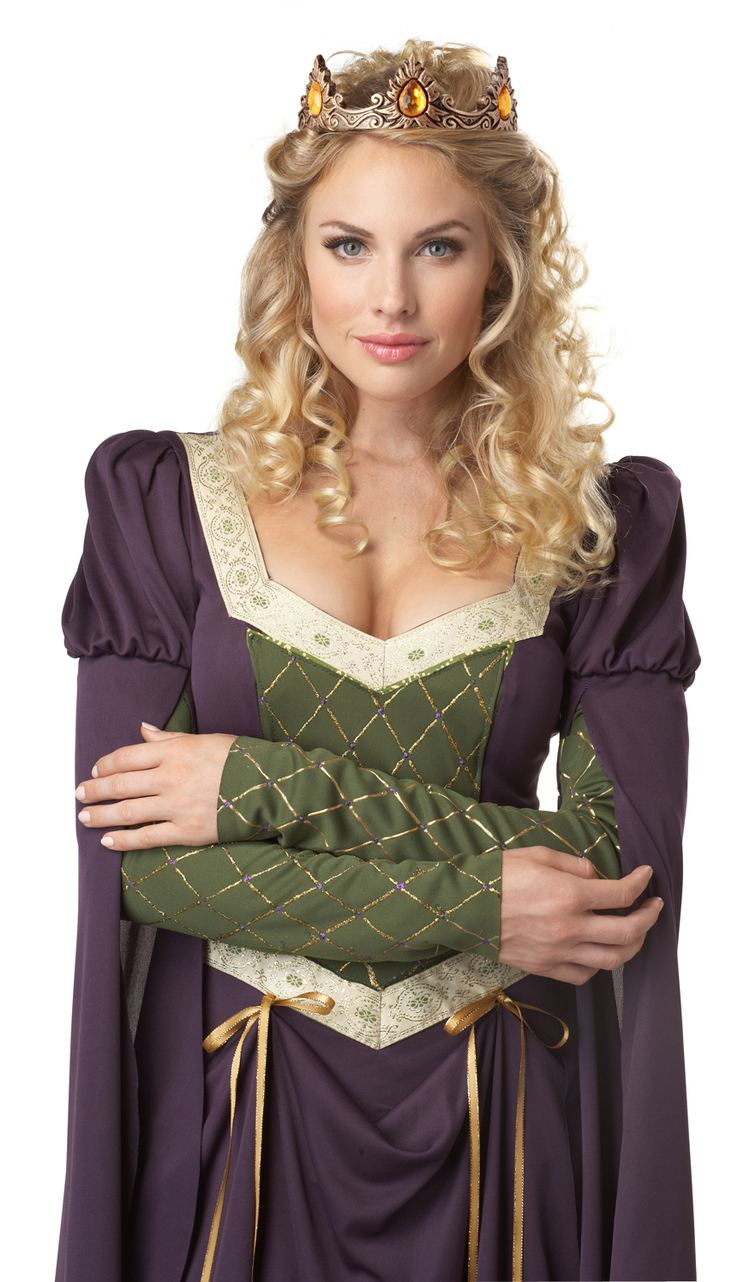 Lady-in-waiting Womenamp039s Medieval Times Lady In Waiting Noble Halloween Costume