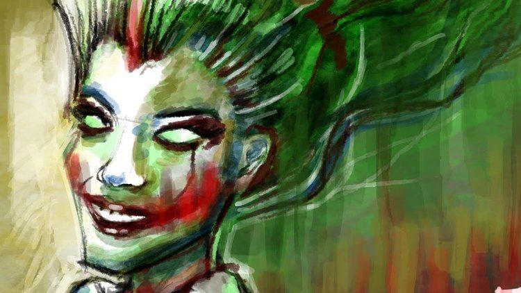 Lady Joker Speedpainting Lady Joker By Davide Ruvolo Speedpainter YouTube