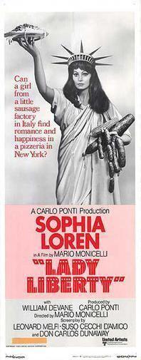 Lady Liberty (film) movie poster