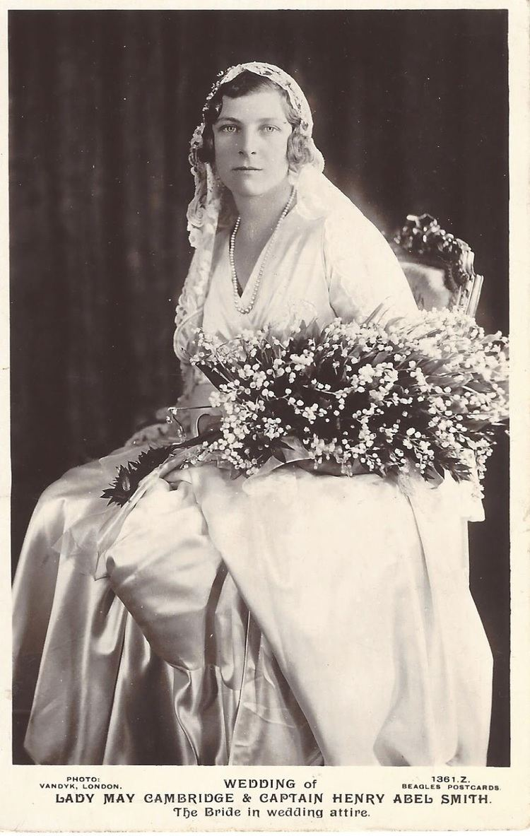 Lady May Abel Smith Royal Musings Lady May weds Captain Henry Abel Smith