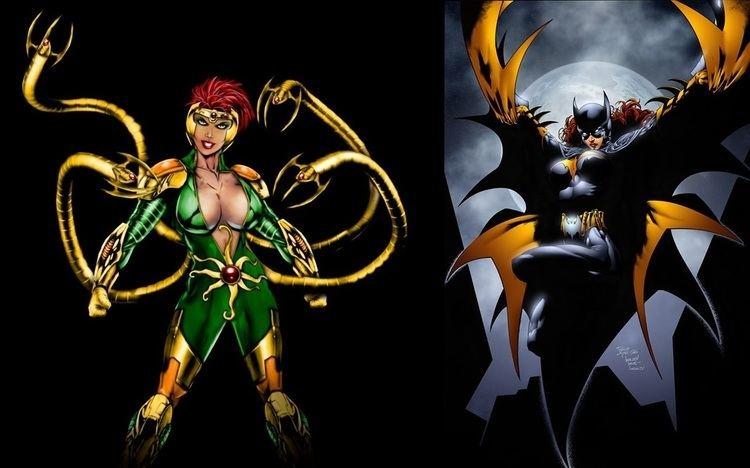Lady Octopus Lady Octopus vs Batgirl Battles Comic Vine