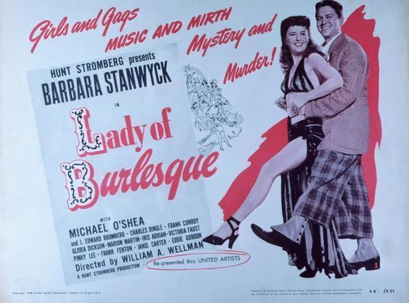 Lady of Burlesque The William Wellman Blogathon LADY OF BURLESQUE 1943 Now Voyaging