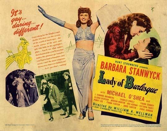 Lady of Burlesque Film Noir Friday The Lady of Burlesque 1943 Deranged LA Crimes